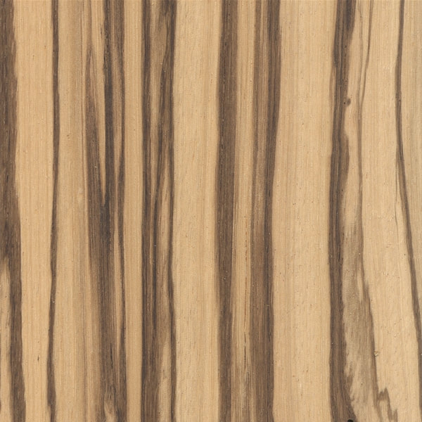 Exotic Hardwood Planed Zebrano