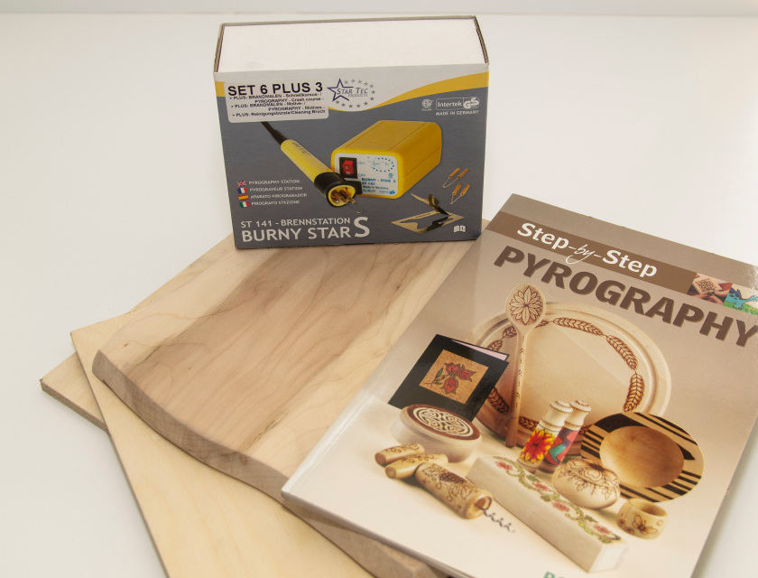 PYROGRAPHY KITS, TIPS & BLANKS
